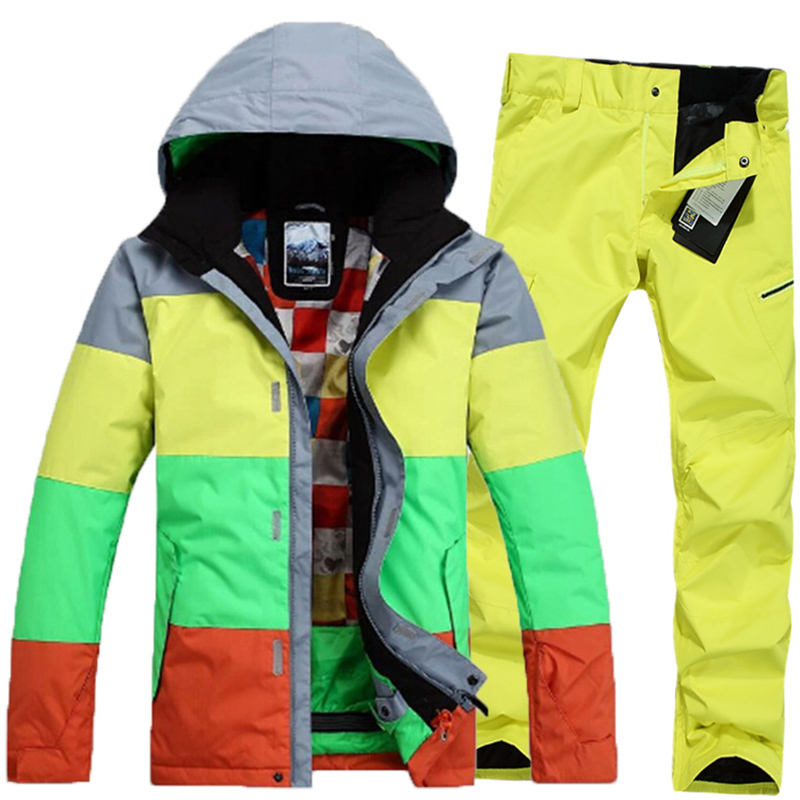 2016 new brand male font b men s b font outdoor professional snowboard warm waterproof genuine