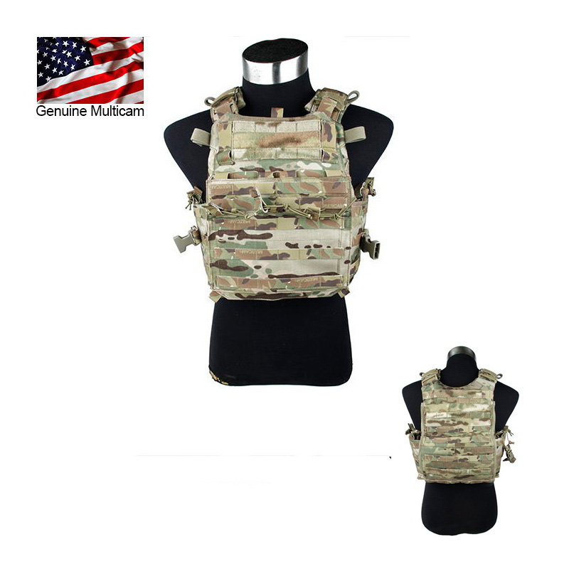 2016 CP AERO assaut plaque transporteur Multicam MOLLE Multicam tactique gilet MC plaque transporteur CP 500D nylon