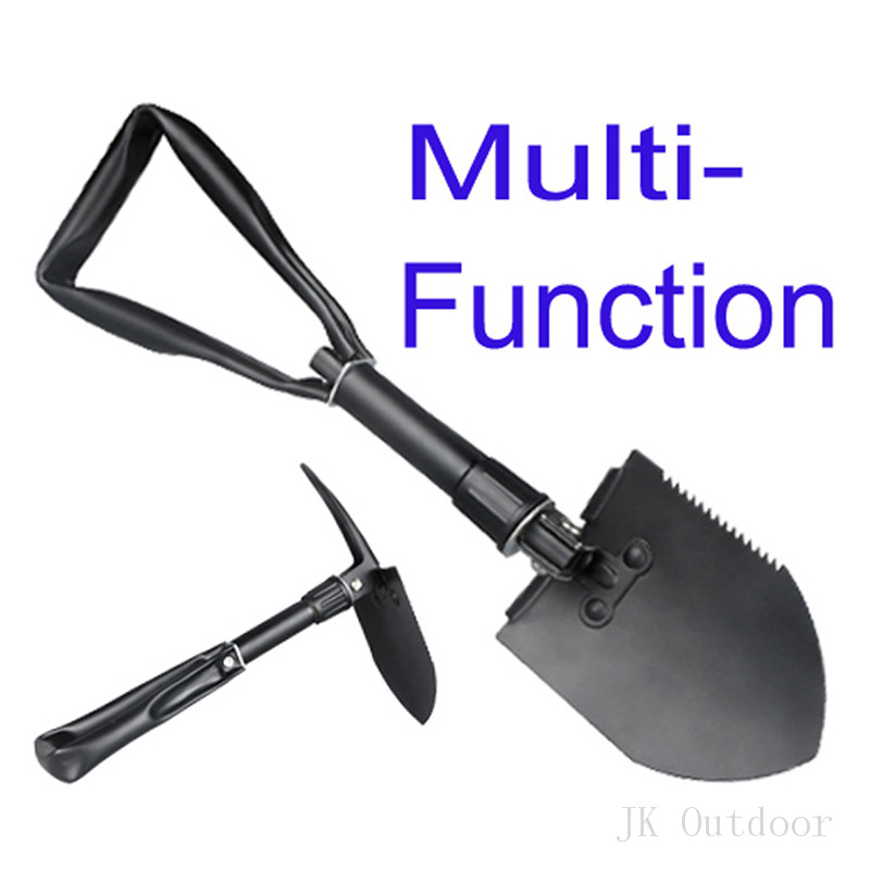 Army Military Portable Folding Spade Shovel Pick Axe Camping Metal Detecting Camping Equipment Outdoor Survival EDC Multi-tool 2017 hot selling professional military tactical multifunction shovel outdoor camping survival folding spade tool equipment