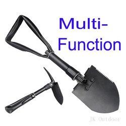Army Military Portable Folding Spade Shovel Pick Axe Camping Metal Detecting Camping Equipment Outdoor Survival EDC Multi-tool