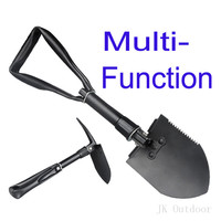Army Military Portable Folding Spade Shovel Pick Axe Camping Metal Detecting Camping Equipment Outdoor Survival EDC
