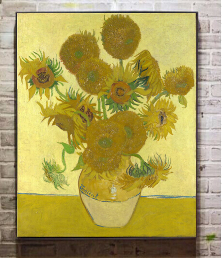 O 08 clissical famoso dipinto ad olio by vincent van gogh pittura a ...