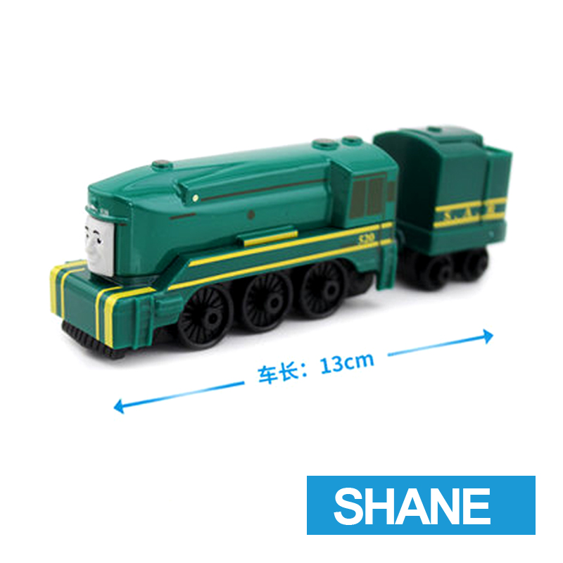 x58 Gift 1: 64 Vehicles Diecasts Thomas with hook SHANE Thomas And Friends Magnetic Thomas Truck Engine Train Toys For Boys