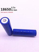 Di alta qualità 5000 mAh 3.7 V 18650 per NCR li-ion batteria ricaricabile per la reale capacità di 2200 Mah