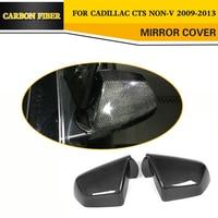 Adicionar no carro de fibra de carbono Mirror Capas caps para Cadillac CTS 2009 2010 2011 2012 2013 carbon mirror cover carbon fiber mirror cover carbon fiber mirror caps -