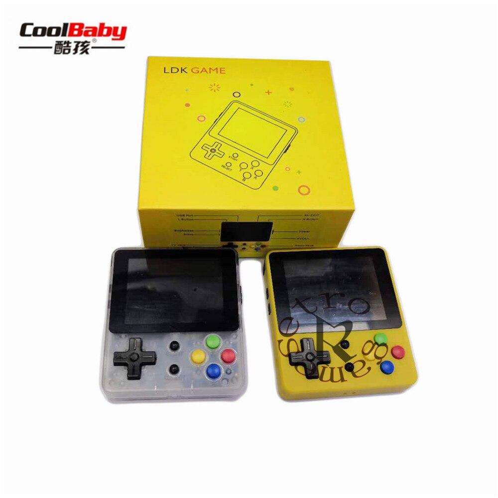 LDK game 2 6inch Mini Handheld Game Console Nostalgic Children Retro game Mini Family TV Video