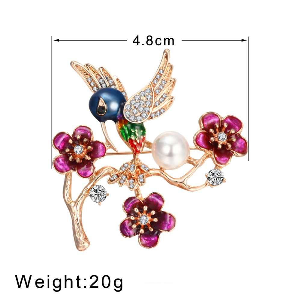 fd78cbf0400 ... Vintage Simulated Pearl Crystal Cat Frog Bee Moon dragonfly butterfly  Pin Brooch Antique Pin Women Brooch ...