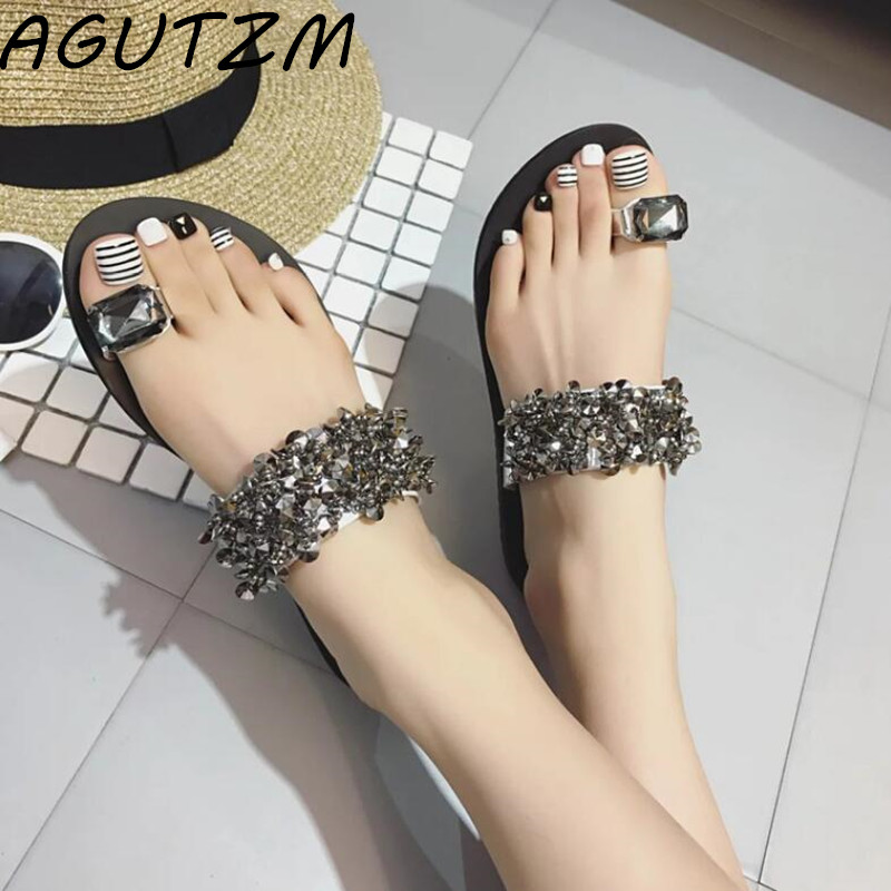 AGUTZM Woman Sandals 2019 Summer Women Concise Platform Open Toe Casual Shoes Woman Fashion Thick Bottom Wedges Sandals 36-41AGUTZM Woman Sandals 2019 Summer Women Concise Platform Open Toe Casual Shoes Woman Fashion Thick Bottom Wedges Sandals 36-41