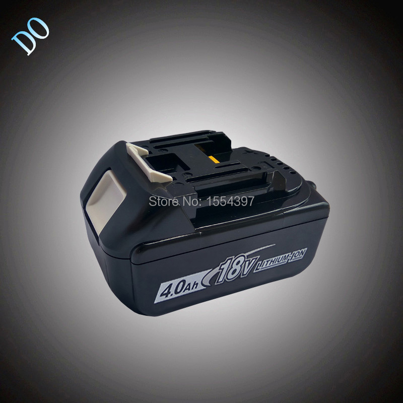 4000mAh Rechargeable Lithium Ion Packs Power Tool Battery Replacement for Makita 18V BL1830 BL1840 Cordless LXT400 Accumulator 18v 3 0ah nimh battery replacement power tool rechargeable for ryobi abp1801 abp1803 abp1813 bpp1815 bpp1813 bpp1817 vhk28 t40