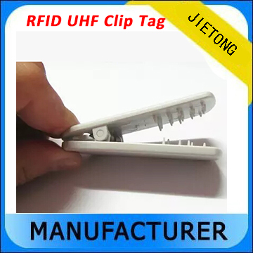 RFID UHF 900Mhz Passive Clip Tag For Cloth Management 860 960mhz long range passive rfid uhf rfid tag for logistic management