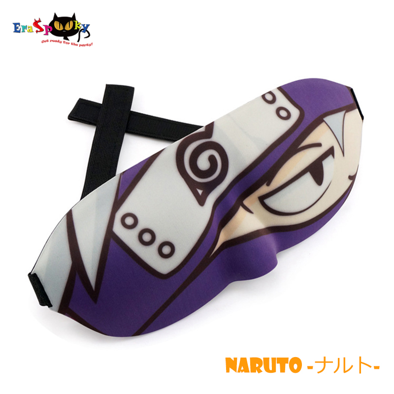 Cute Eye Mask For Sleeping Naruto Pikachu Anime Cosplay Funny 3D Eyeshade Cover Rest Sleep Eye Mask Sleeping Lovely Blindfold