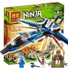242pcs 9756 Ninja Jay's Storm Fighter Building ZX Snappa Set Bricks Construction Compatible With Lego