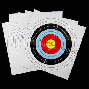 Practice Darts Paper Target-Faces Shooting Archery Amusement-Accessories 1pc Prop Bows