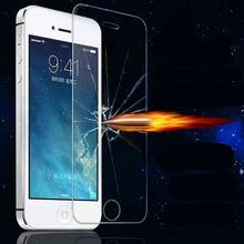Explosión frente prueba anti shatter vidrio templado protector de pantalla de cine para apple iphone 4 4S 5 5S SÍ 5c 6 s 6 s 6 s Más 7 7 Plus