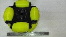254 мм для тяжелых условий эксплуатации стали всенаправленная колеса с ПУ ролик (Грузоподъемность: 500 кг/шт.) NW254A