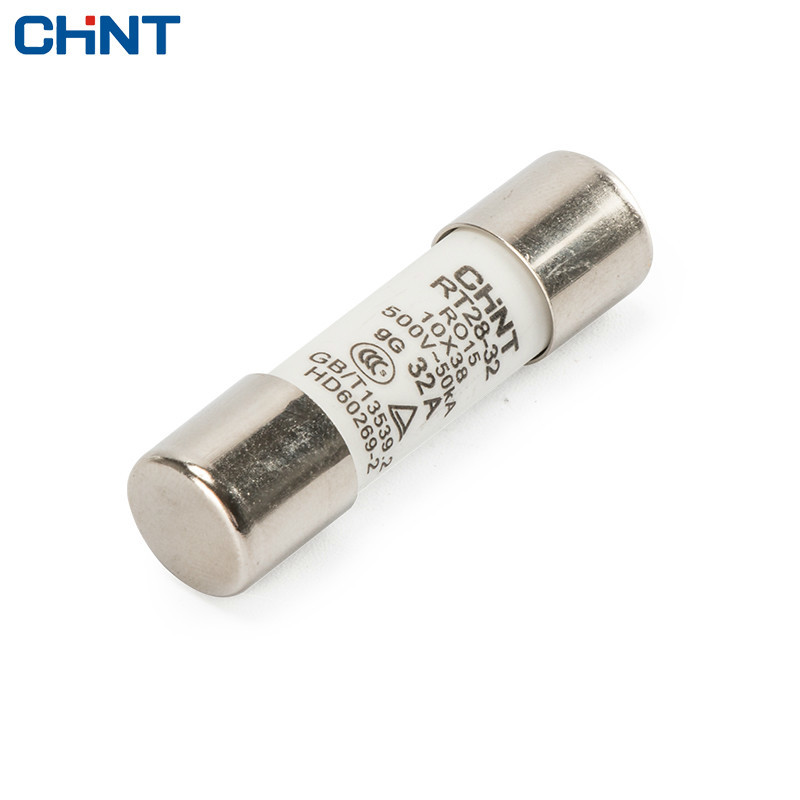 Multimeter 10 x 38mm 1000V 10A Cylinder Ceramic Fuse White AB