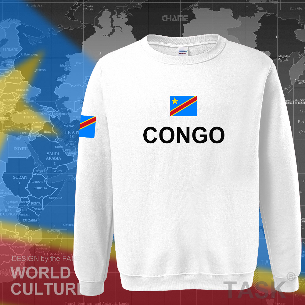 Image 5 - DR Congo hoodies men sweatshirt sweat new hip hop streetwear clothing sporting tracksuit COD DRC DROC Congo Kinsha Congolese-in Hoodies & Sweatshirts from Men's Clothing