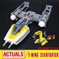 Lepin 05065 New 691Pcs Genuine Star War Series The Y-wing Starfighter Set Building Blocks Bricks Educational Toys Gift 75172