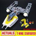 Lepin 05065 Nuevo 691 Unids Genuino Serie Star La Ordenada en el ala de Caza Juego de Bloques de Construcción Ladrillos de Juguetes Educativos regalo 75172