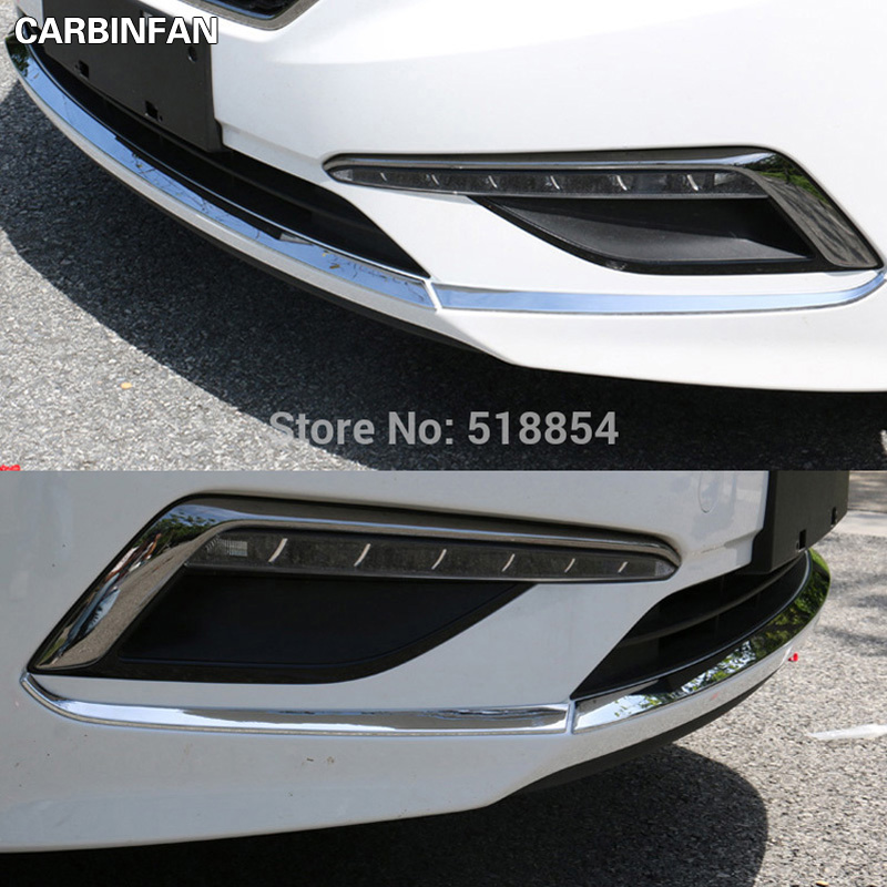 Accessories Fit For 2015 2016 Hyundai Sonata Lf Chrome