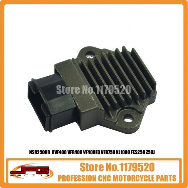 Алюминиевый Выпрямитель Регулятор NSR250RR MC18 MC21 MC28 RVF400 VFR400 VFR750 VF400FD XL1000 FES250 MF04 Обезьяна Z50J