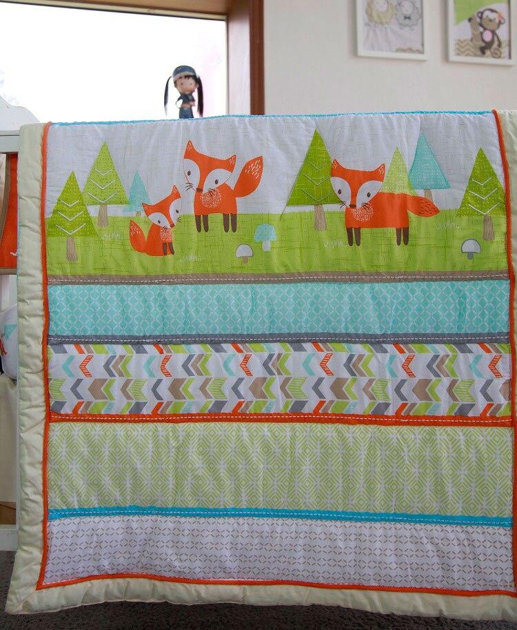 1 шт., Хлопковое одеяло для детской кроватки, 33*42, для мальчиков и девочек, Универсальное Детское одеяло с мультяшным принтом, детское одеяло, одеяла для кроватки, детские вещи для новорожденных - Цвет: comforter only18