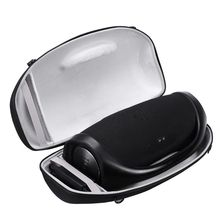 المحمولة السفر تحمل حالة غطاء حقيبة مع حزام الكتف ل bombox بلوتوث مكبر الصوت اللاسلكي و شاحن
