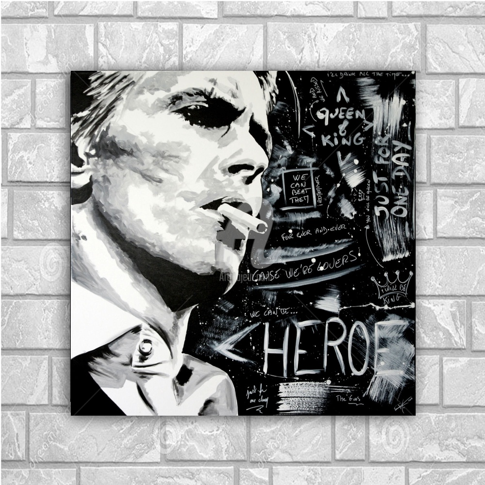 David Robert Jones Art Silk poster Home Decor 12x12 24x24inch ...