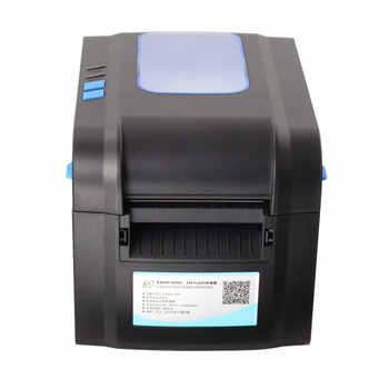 152 ミリメートル/秒速度サーマルバーコードプリンタラベルプリンタ Qr コードプリンタ印刷することができ 20 ミリメートル-82 ミリメートル幅紙