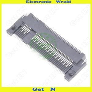 Image 5 - 5ピースngffインタフェースコネクタキーbシェンプレートタイプm.2ソケット高さ1.5ミリメートル67Pin付きフロントプラグとバックsmd