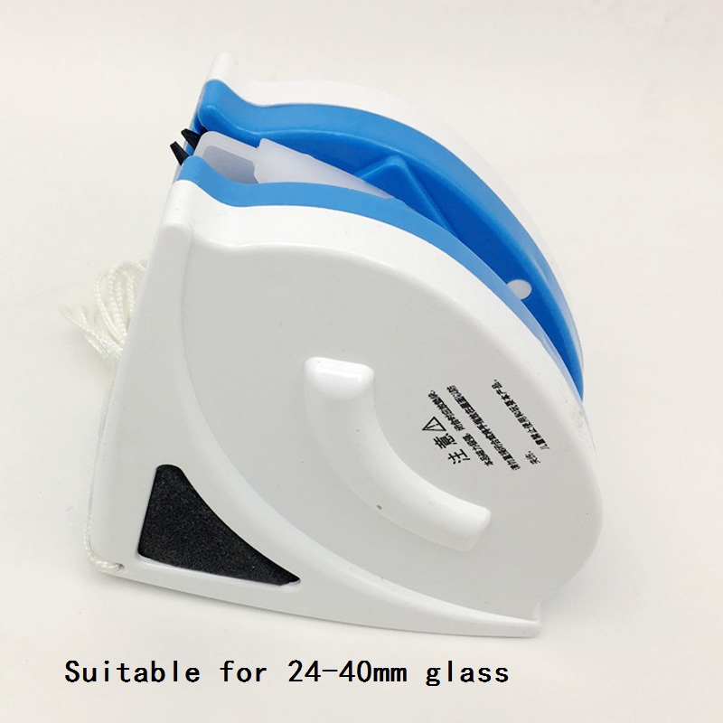 Three layer Hollow Glass Cleaner Adjustable Magnetic Brush Windows Cleaning Tools Double sided Wipers