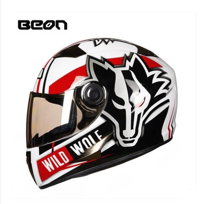 Ece Weiß Orange Hawkeye Beon Volle Gesicht Moto Cross Helm Für Frauen, Moto Rcycle Moto Roller Moto Rbike Helm Mit Visier Fein Verarbeitet