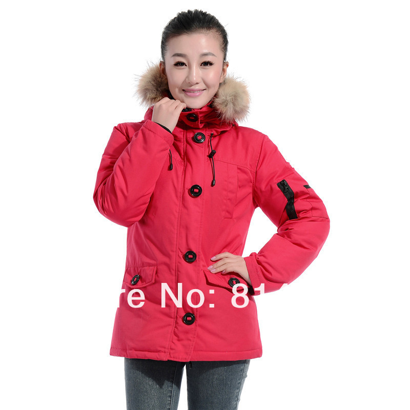 c5a6376ff3 free shipping newest popular outdoor winter coat Women parka jacket ...