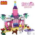 Cogo serie de la muchacha 13272 mágico mundo 178 unids juguetes para niñas Building Block Sets para las niñas Bricks educación de bricolaje juguetes para las muchachas