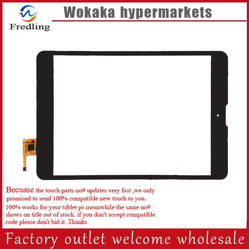Black or white New 7.85inch tablet pc touch screen DPT 300-L4541J-C00 for Texet tm-7858 3G Tm-7868 3G digitizer touch black or white new 7 85inch tablet pc touch screen dpt 300 l4541j c00 for texet tm 7858 3g tm 7868 3g digitizer touch