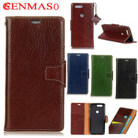 Luxury Genuine Leather For One Plus OnePlus 5T 5 T Case 6 01 Crazy Horse Skin