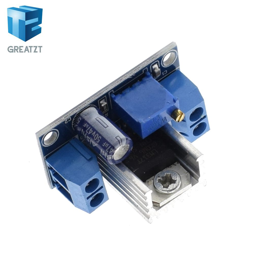 Lm317 Dc Converter Buck Step Down Circuit Board Module Linear Adjustable Voltage Regulator Schematic Power Supply In Integrated Circuits From