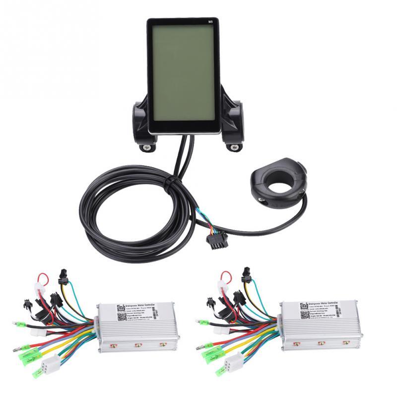 48V 1000W Electric Bike Bicycle Controller LCD Ebike Panel Display W/' Bracket