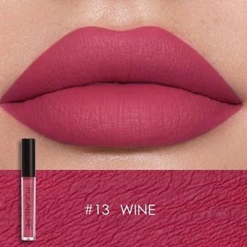 Focallure glitter Matte Liquid Lipstick 25color Lip gloss Lip Tint Cosmetic Lipstick not sticky Sexy Nude Makeup 2