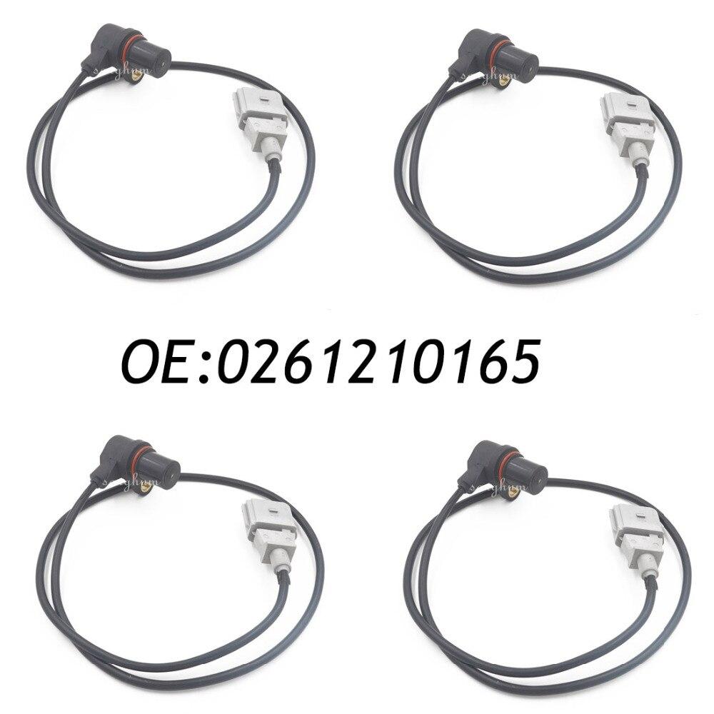 4PCS 0261210165 Crankshaft Position Sensor For AUDI VW