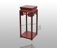 Burma Rosewood Incense Table Engraved With Meander Patterns Home Furniture Arts Crafts Flower Stand 4ft House