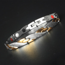 Magnet Trend bracelet Titanium steel jewelry dragon Grain Gold Stainless Steel Jewelry