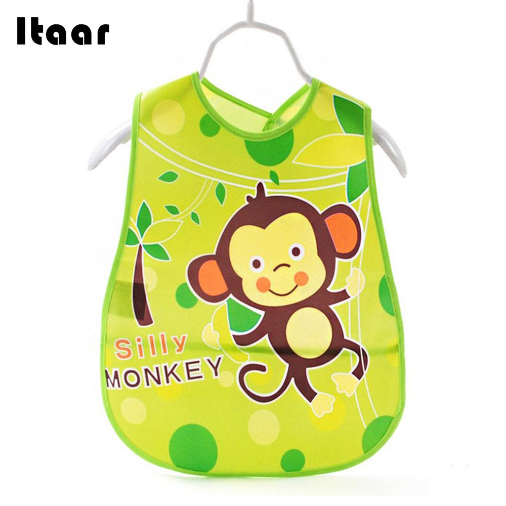 Lovely Baby Waterproof Bib Cute Adjustable Kids Bandanas 6 Pattern