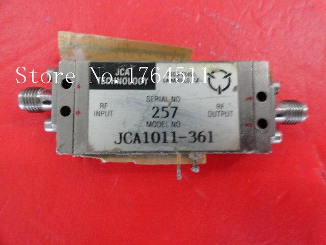 [BELLA] JCA JCA1011-361 6.3-12GHz 15V SMA Supply Amplifier
