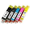 Para a rússia compatível cartucho de tinta a jato de tinta para uso para hp deskjet 3070a hp178 hp178xl 178 178xl/3520/officejet 4620 impressora