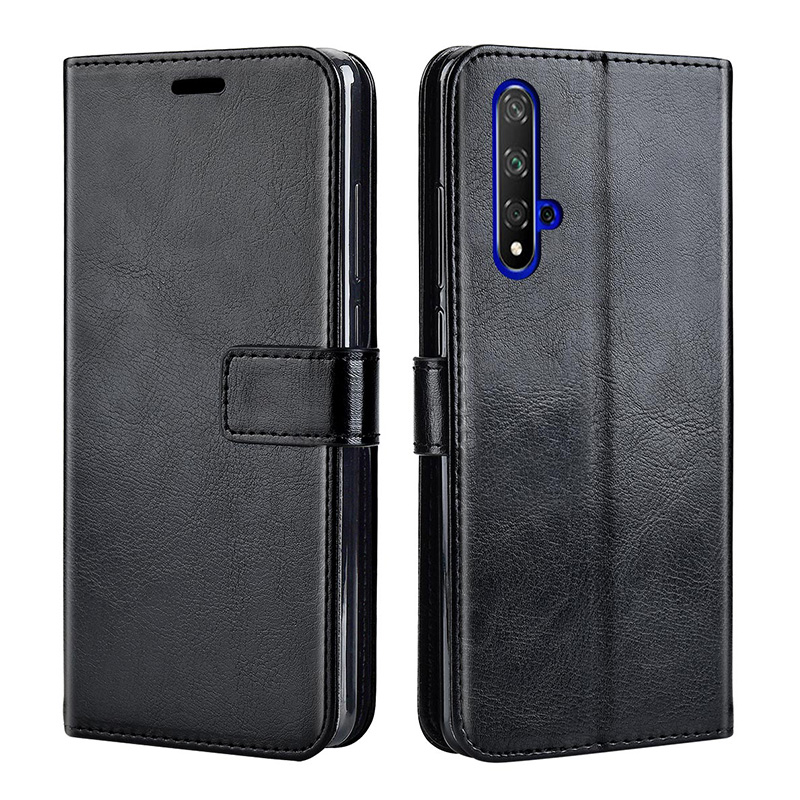 Leather Case For Huawei Honor 20 Case On Honor 20 Pro Flip Cover Case For Huawei Honor 20 Lite 20Lite Back Case On Honor 20 Pro