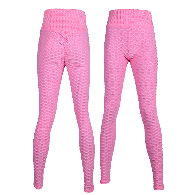 9ee443fccd 2019 Sexy Yoga Pants Fitness Sports Leggings Jacquard Sports Leggings Female  Running Trousers High Waist Yoga Tight Sports Pants