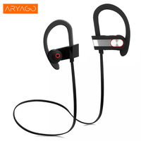ARYAGO Waterproof Earphone Wireless Neckband Portable Bluetooth Consumer Electronics Sport Headset Support Music Phone Earphone