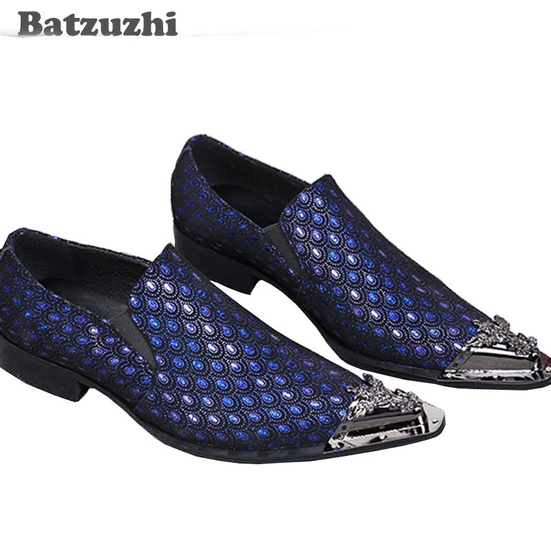 Autores del Blog  Calzado 3 Italiano Fiesta Batzuzhi Mteal Lujo model Model  Los Del Vestir Zapatos Pie ... 845384bcae9