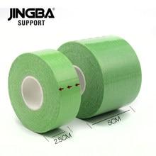 JINGBA wsparcie bandaż elastyczny taśma sportowa taśma kinezjologiczna sportowe do biegania siłownia tenis kolana ból mięśni opieki bandagem elastica